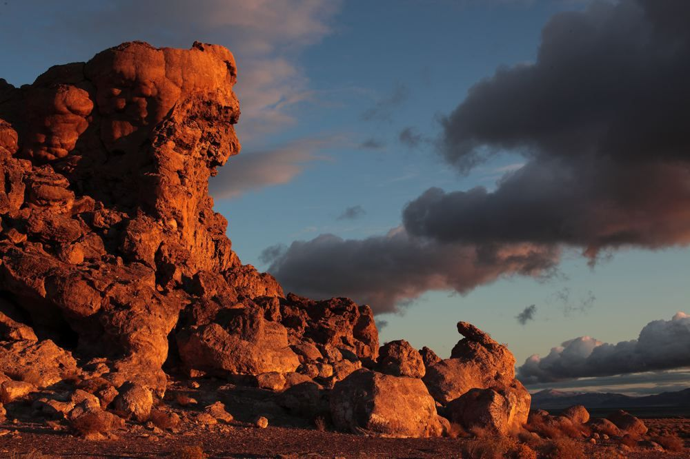 Indian Head Rock at Dawn
