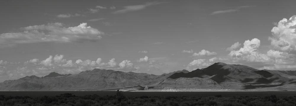 Pyramid Lake Black and White