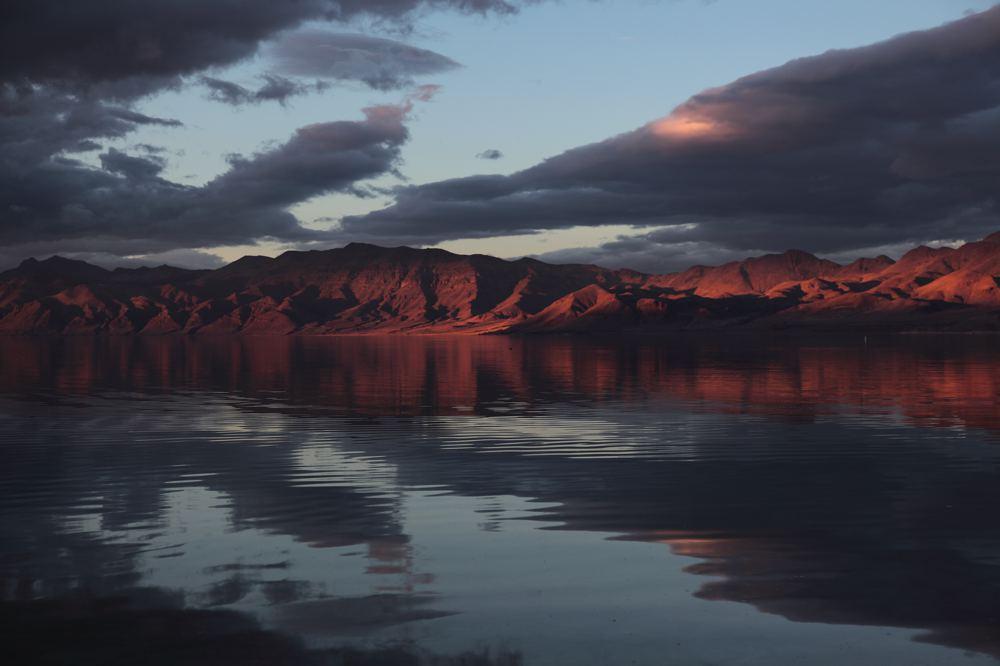 Pyramid Lake Reflections